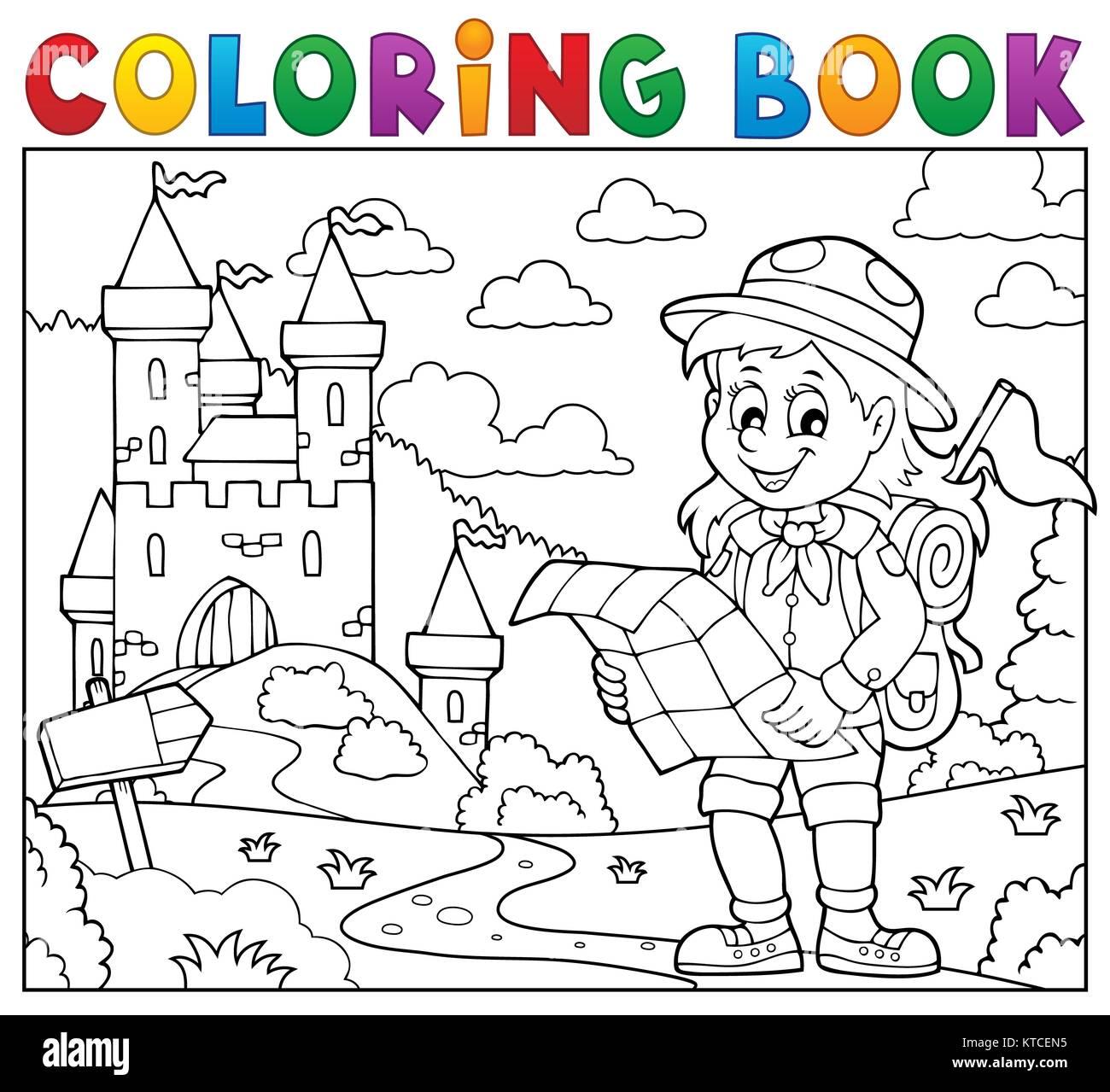 Hermosa Girl Scout Para Colorear Inspiración - Dibujos Para Colorear ...