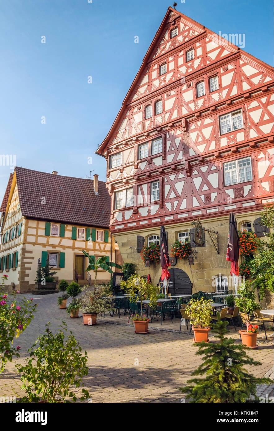 Baumansche House, una histórica casa de marcos de madera en el ...