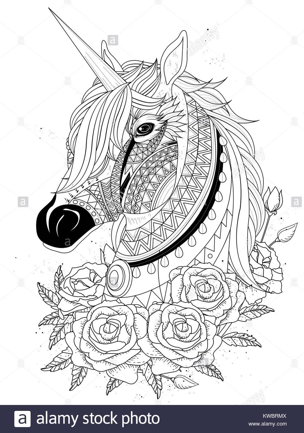 Unicorn Vector Imágenes De Stock & Unicorn Vector Fotos De Stock - Alamy