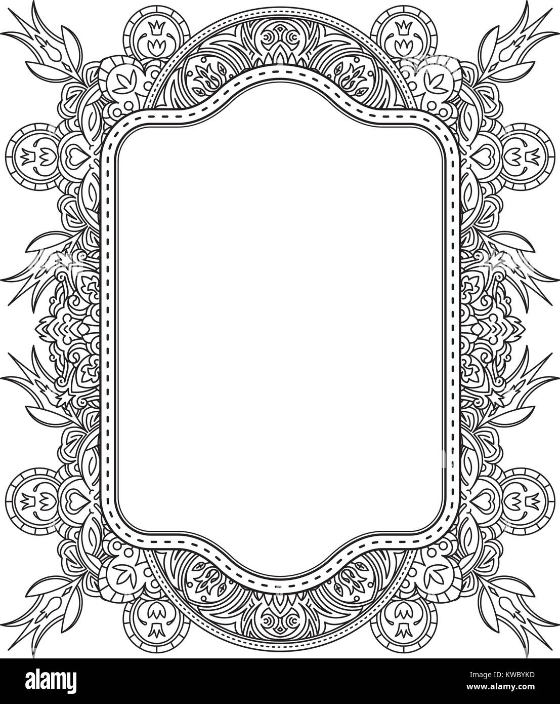 Plantilla de diseño étnico invitaciones de boda y tarjetas de ...
