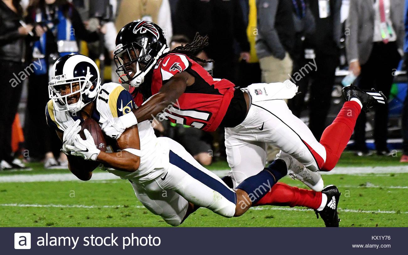 Los Angeles California Eeuu 6 Ene 2018 Los Angeles Rams