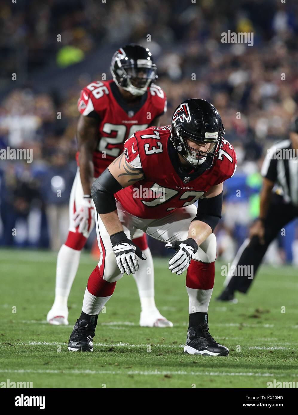 Los Angeles Ca Ee Uu 06th Ene 2018 La Ofensiva De Los Falcons