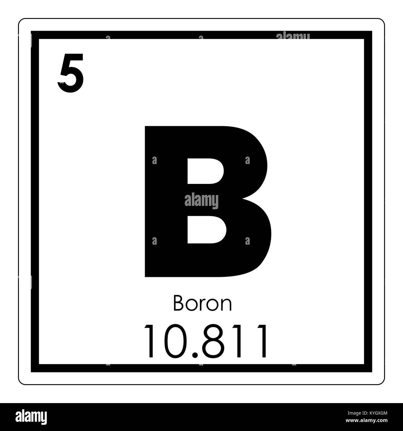 Boro elemento qumico tabla peridica ciencia smbolo foto imagen boro elemento qumico tabla peridica ciencia smbolo urtaz Gallery