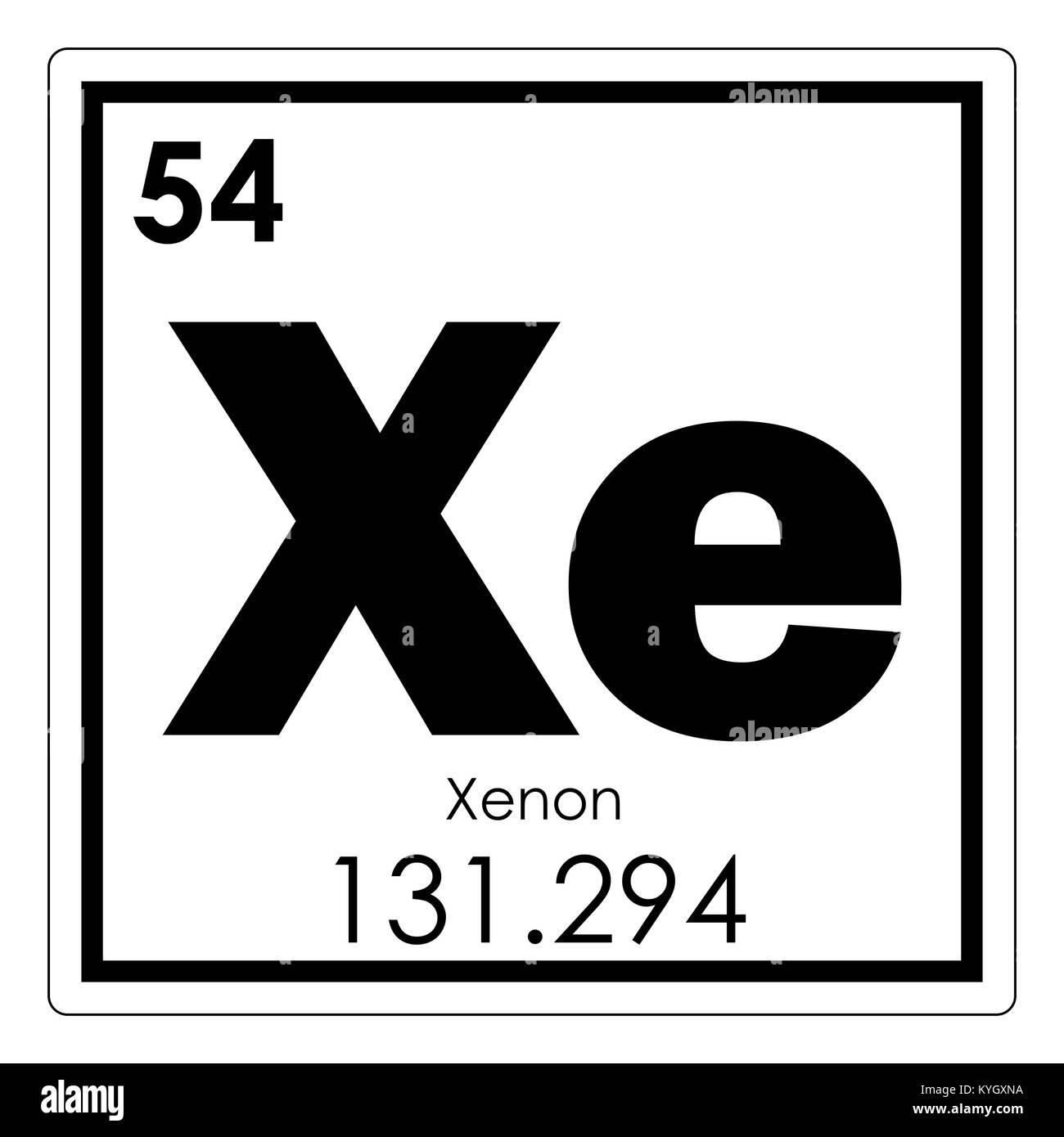 Tabla peridica de elementos qumicos de xenn smbolo de ciencia tabla peridica de elementos qumicos de xenn smbolo de ciencia urtaz Choice Image