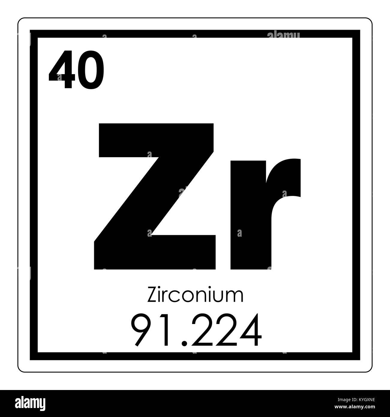 Tabla peridica de elementos qumicos de circonio smbolo de ciencia tabla peridica de elementos qumicos de circonio smbolo de ciencia urtaz Choice Image