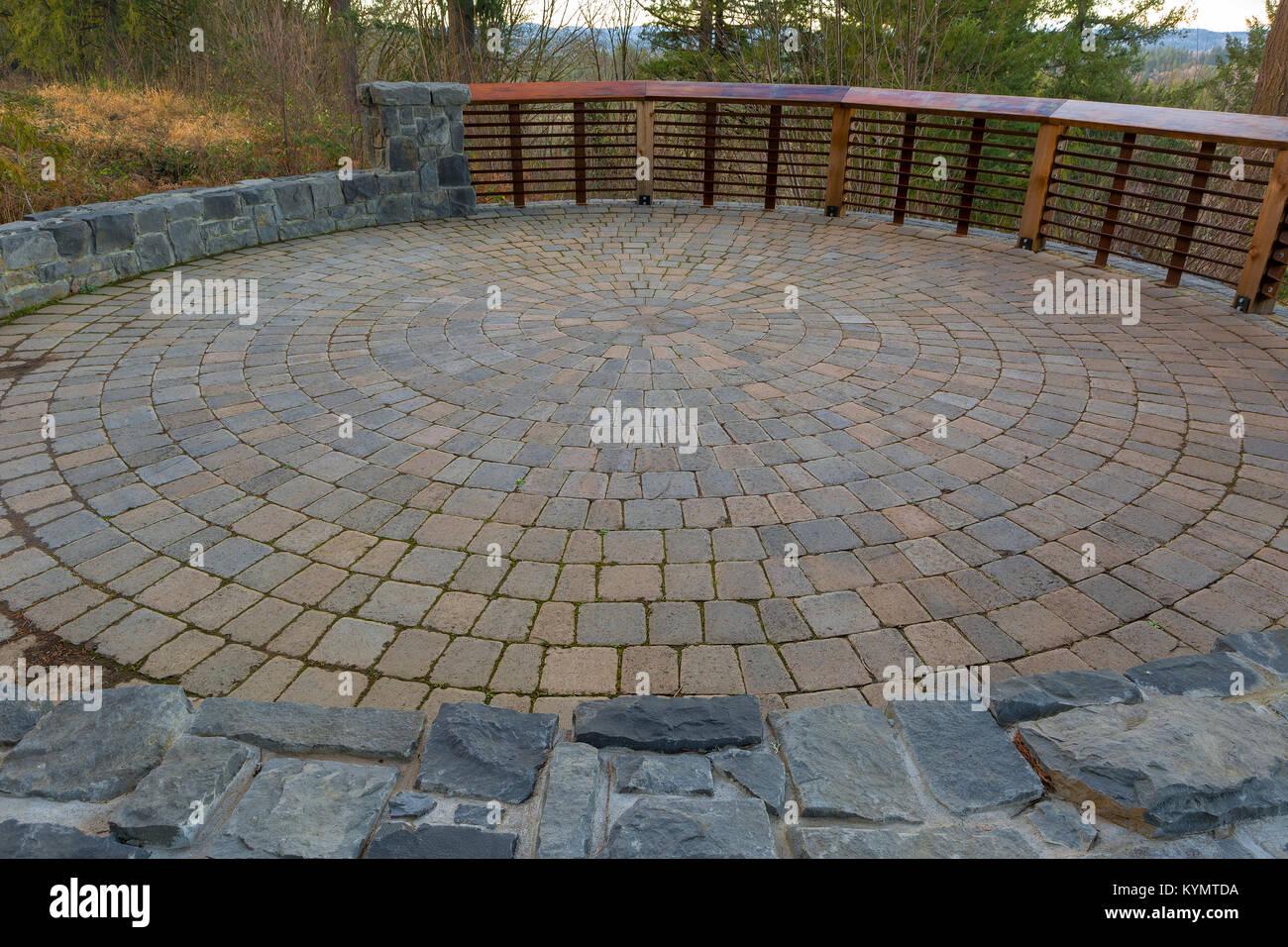 Patrones De Ladrillos De Pavimentacin Jardines Y Terrazas
