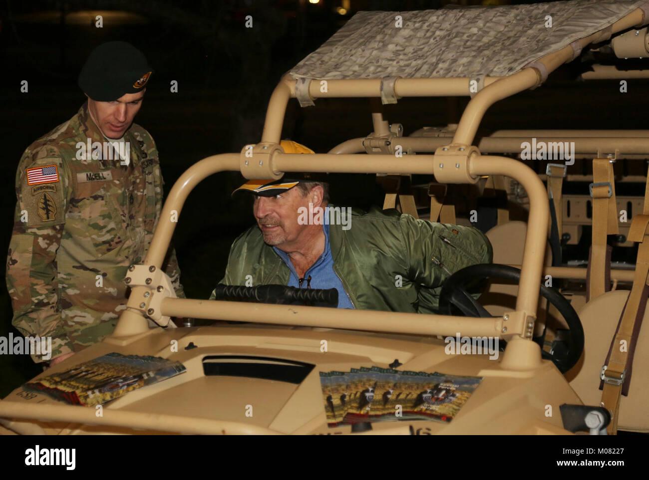 un primer grupo de fuerzas especiales airborne boina verde explica