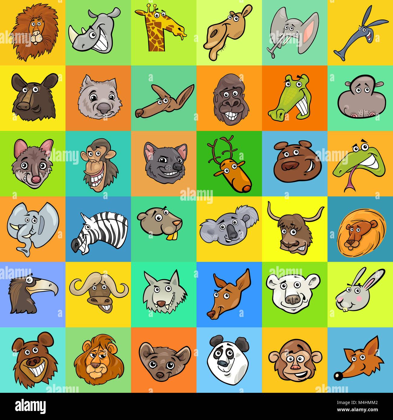 Excepcional Animales Diseño De Uñas De Impresión Ilustración - Ideas ...