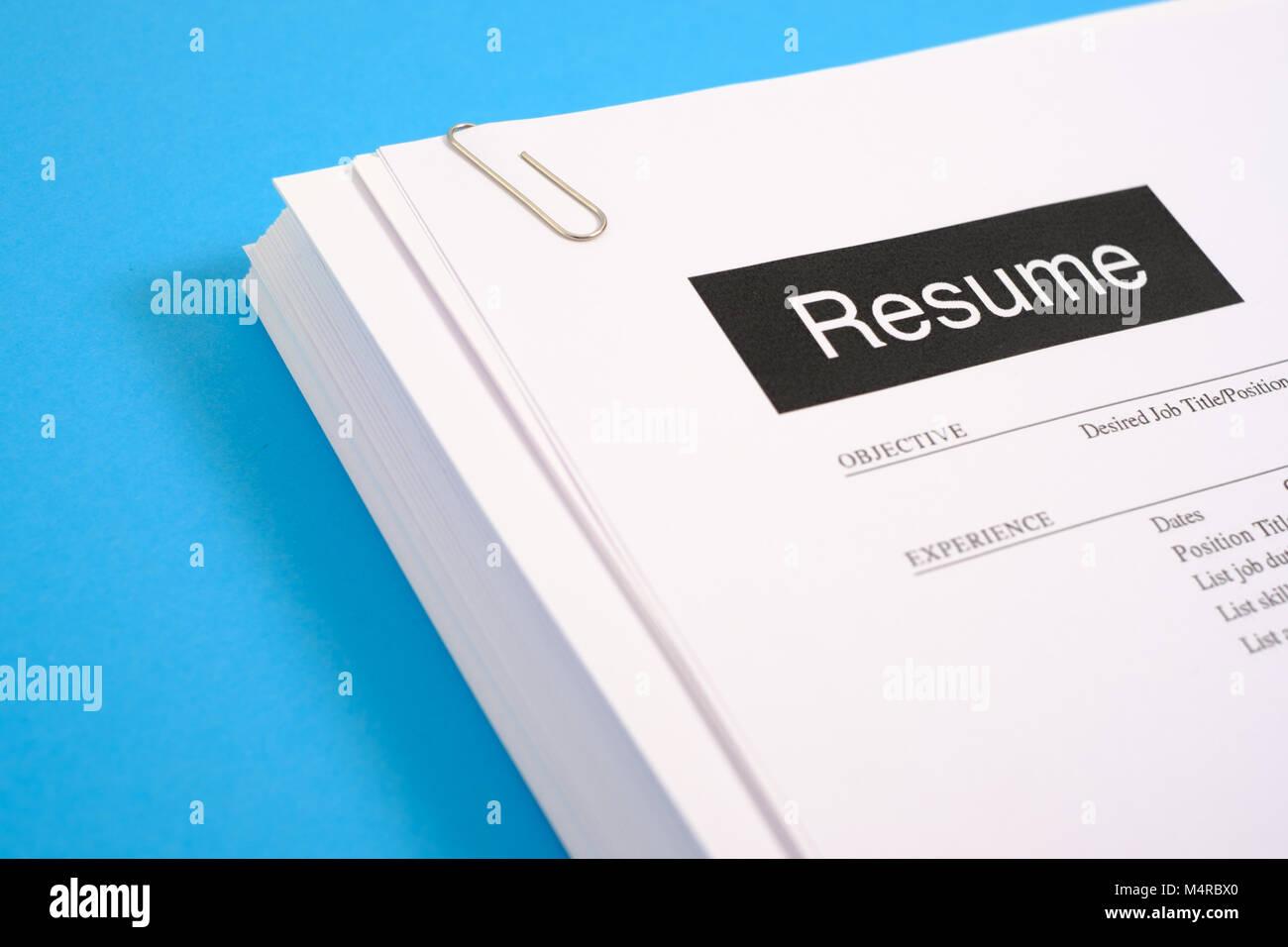 Búsqueda de trabajo y reanudar la entrevista Reclutamiento concepto ...