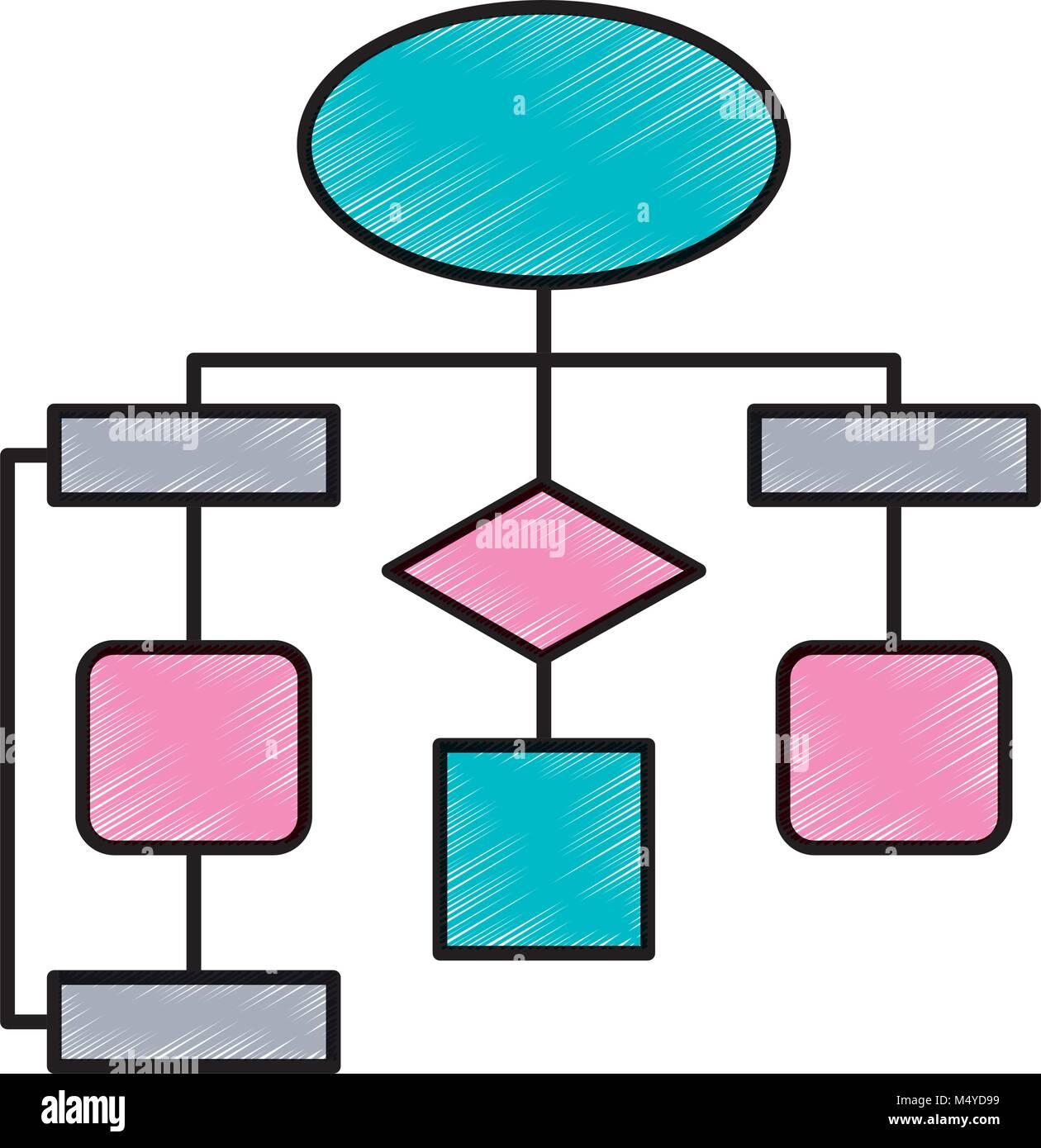 Diagrama de flujo diagrama de conexin vaco ilustracin del vector diagrama de flujo diagrama de conexin vaco ccuart Image collections