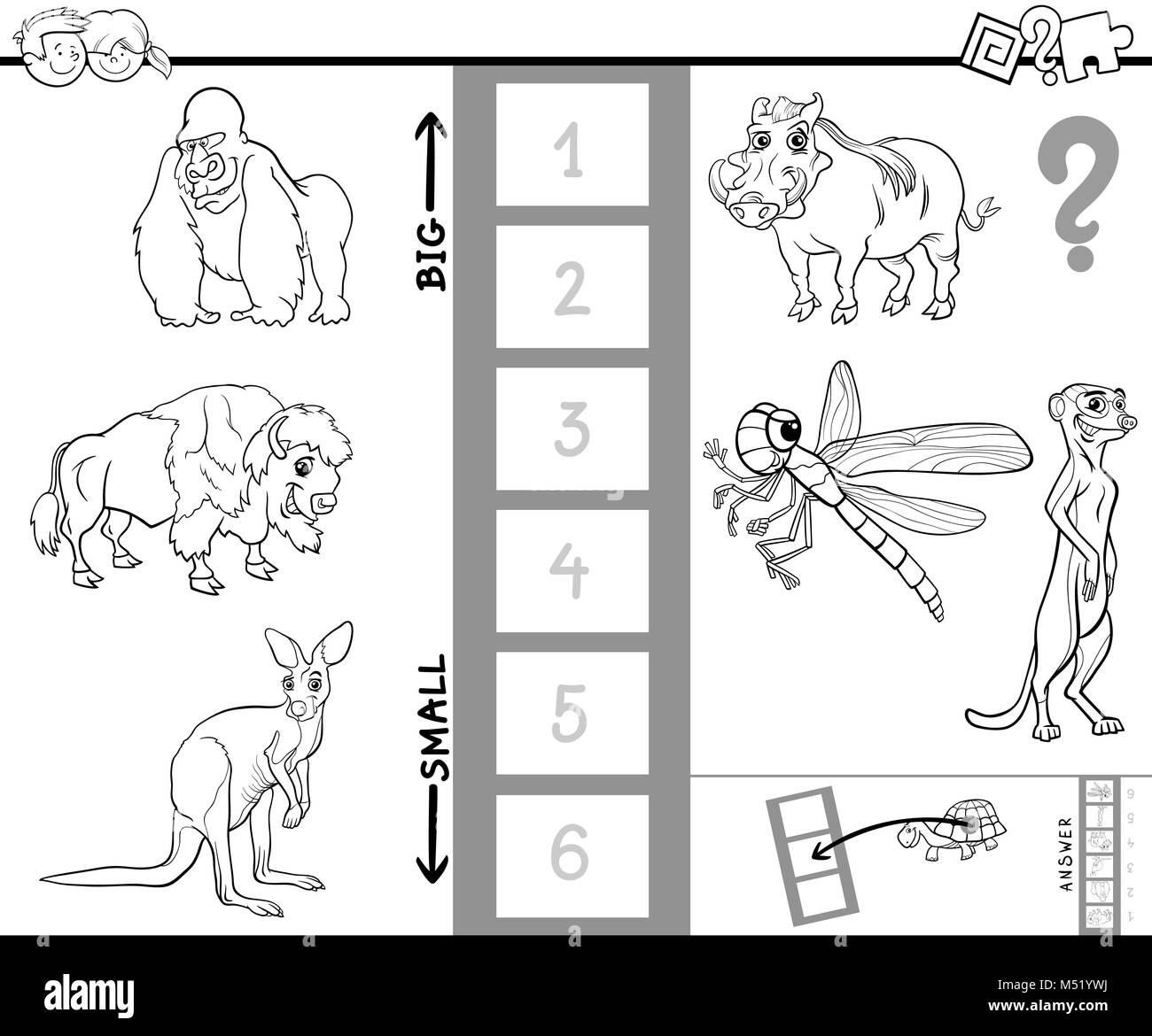 Encontrar mayor actividad animal libro de color Foto & Imagen De ...