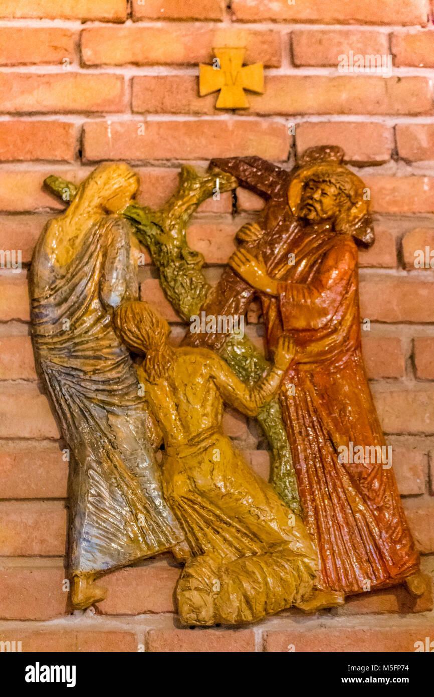 LUGO (RA) - Febrero 21, 2018: Jesús encuentra a su madre en la ...