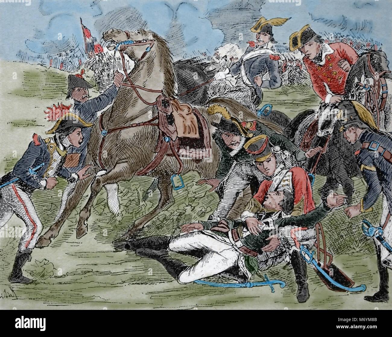 Lujoso Batalla De Guerra Revolucionaria Para Colorear Molde ...