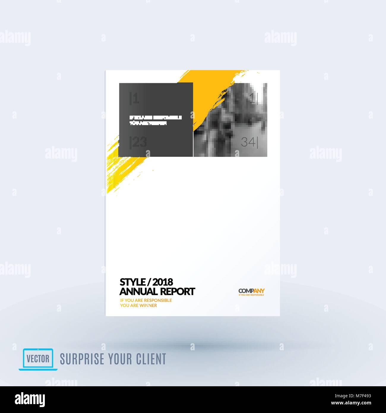 Diseño abstracto del vector de negocios folleto, cubierta de ...