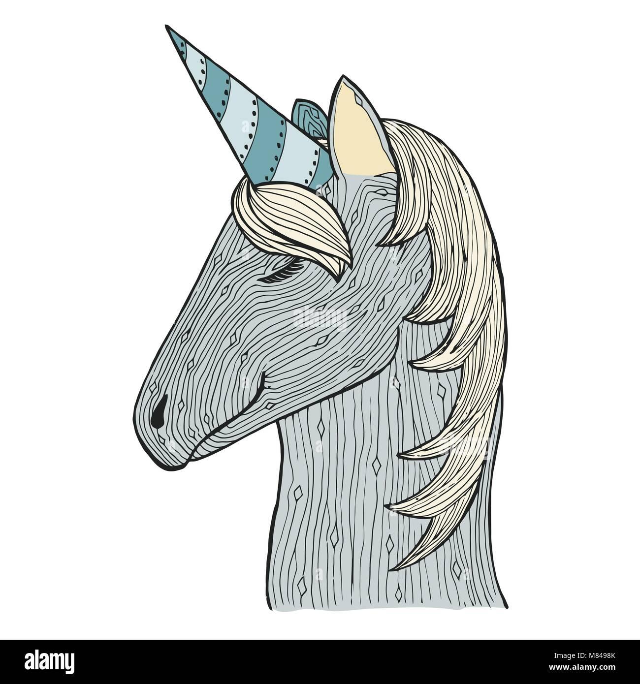 Vistoso Libro De Colorear Unicornio Molde - Enmarcado Para Colorear ...
