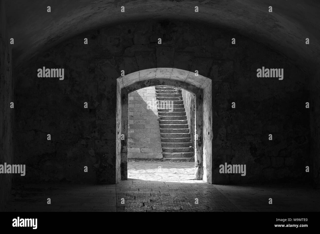 entrance stairs inside stone Stock Photos & entrance stairs inside ...