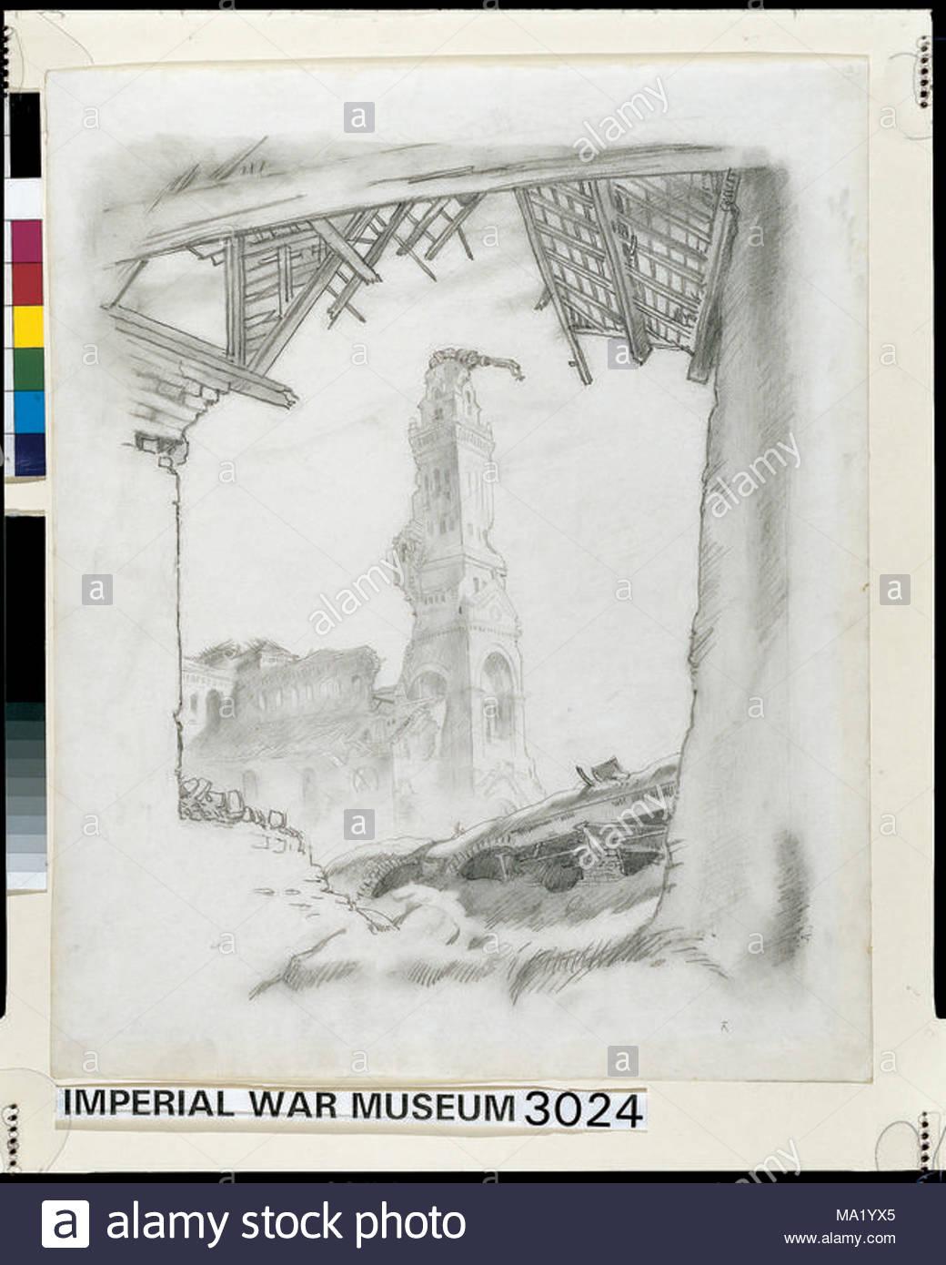 Albert imagen: un montón de escombros yace en el primer plano de la ...