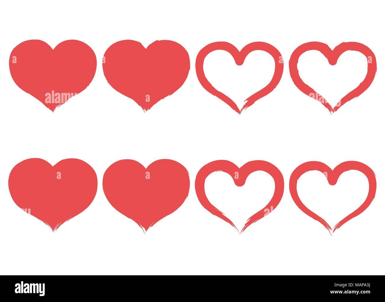 Atractivo La Imagen Del Corazón Etiqueta Friso - Imágenes de ...