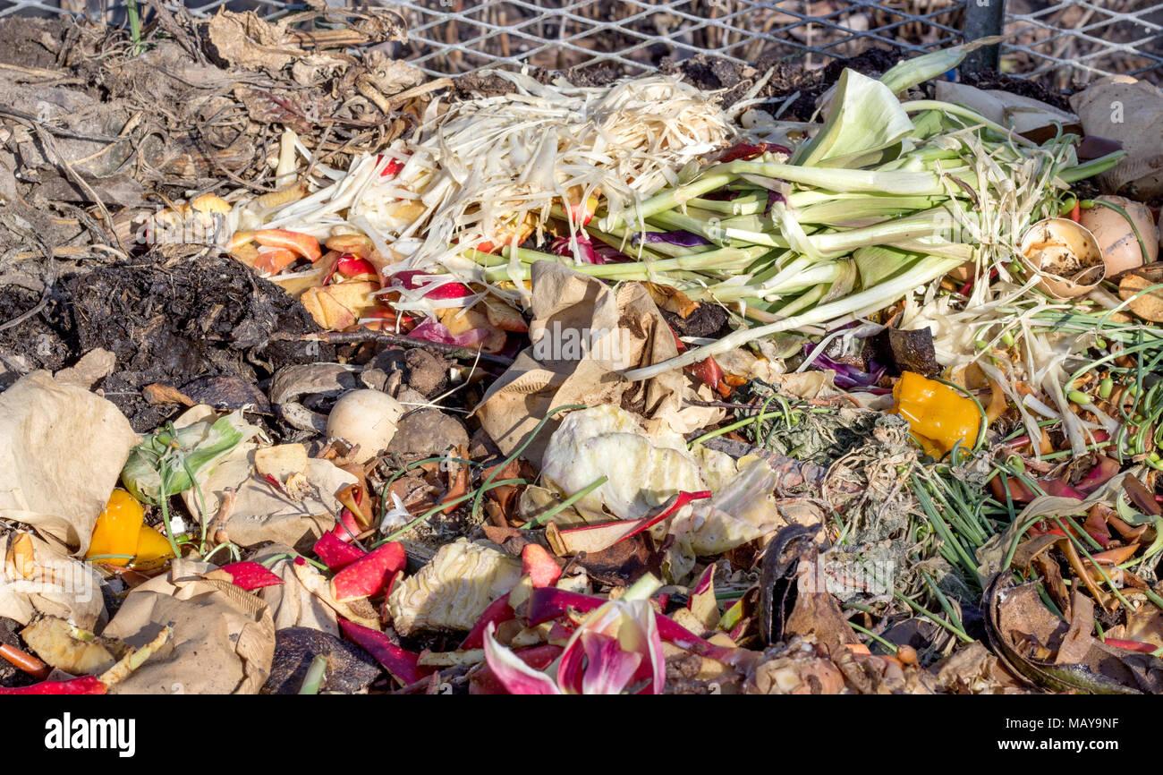 Perfecto Contenedor De Compost De Cocina Bosquejo - Ideas de ...