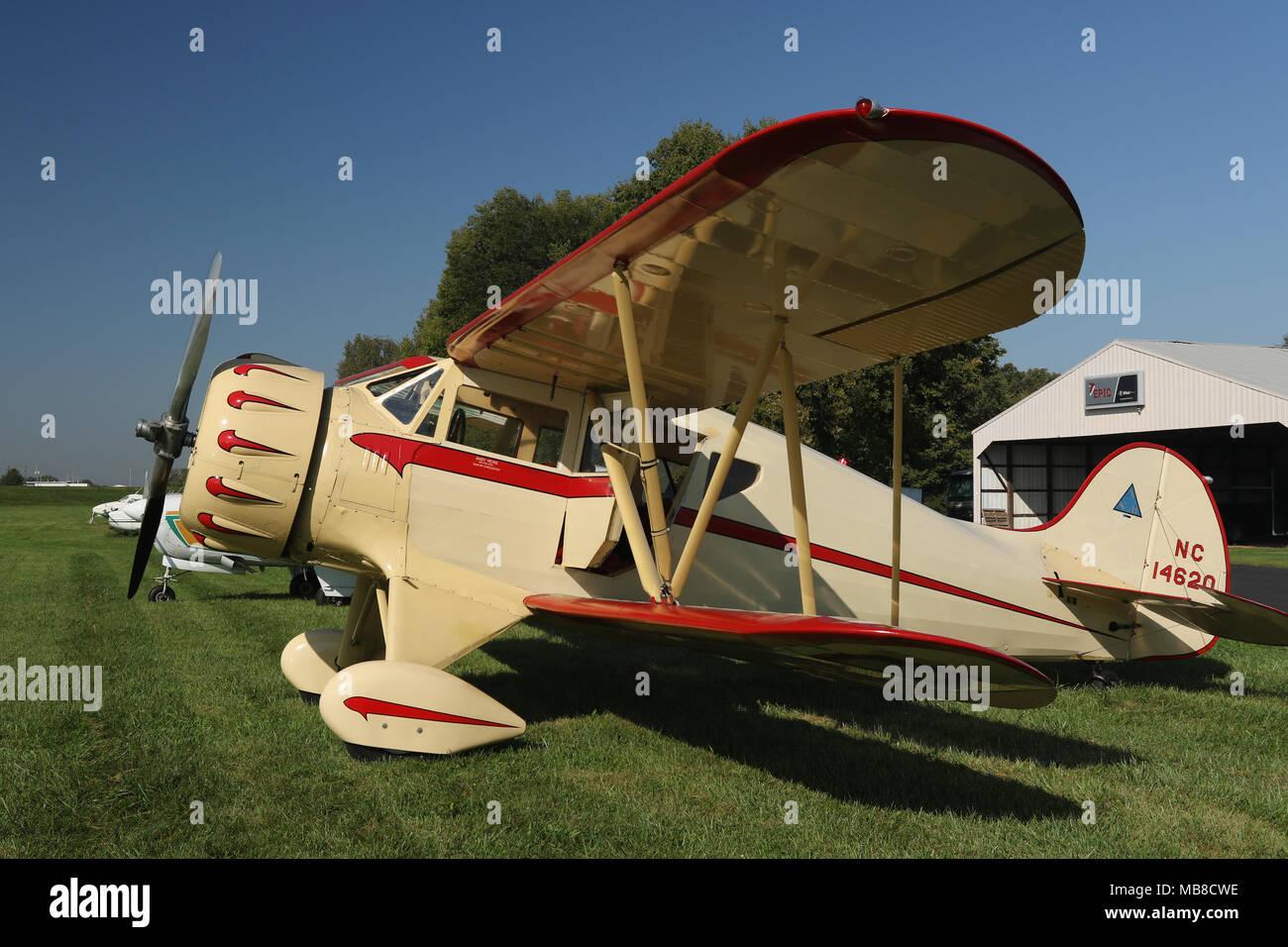 e6bfc4b56 Vintage 1935 Avión. WACO modelo YKC-S