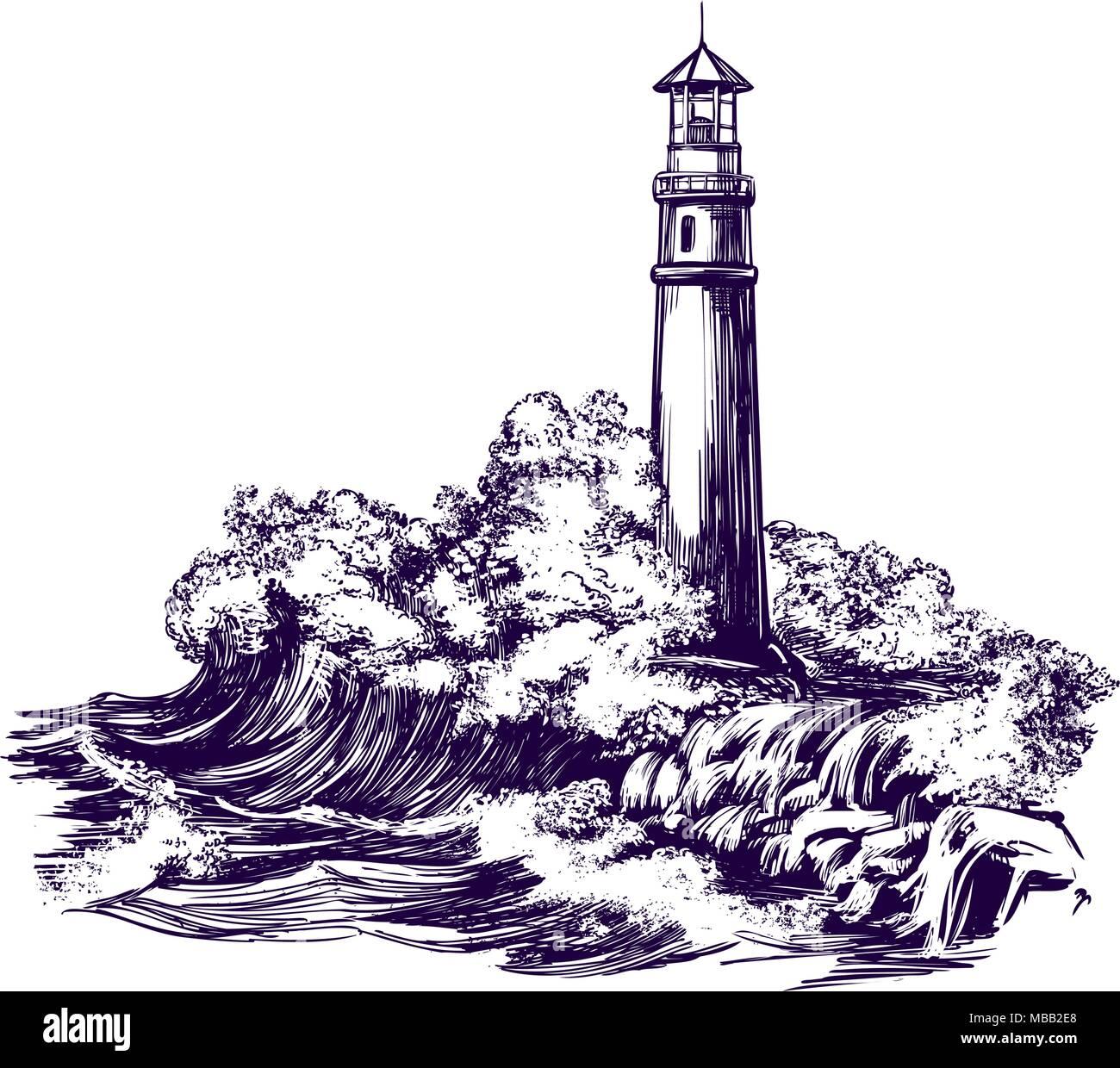 Bonito Faro Para Colorear Imprimible Inspiración - Dibujos Para ...