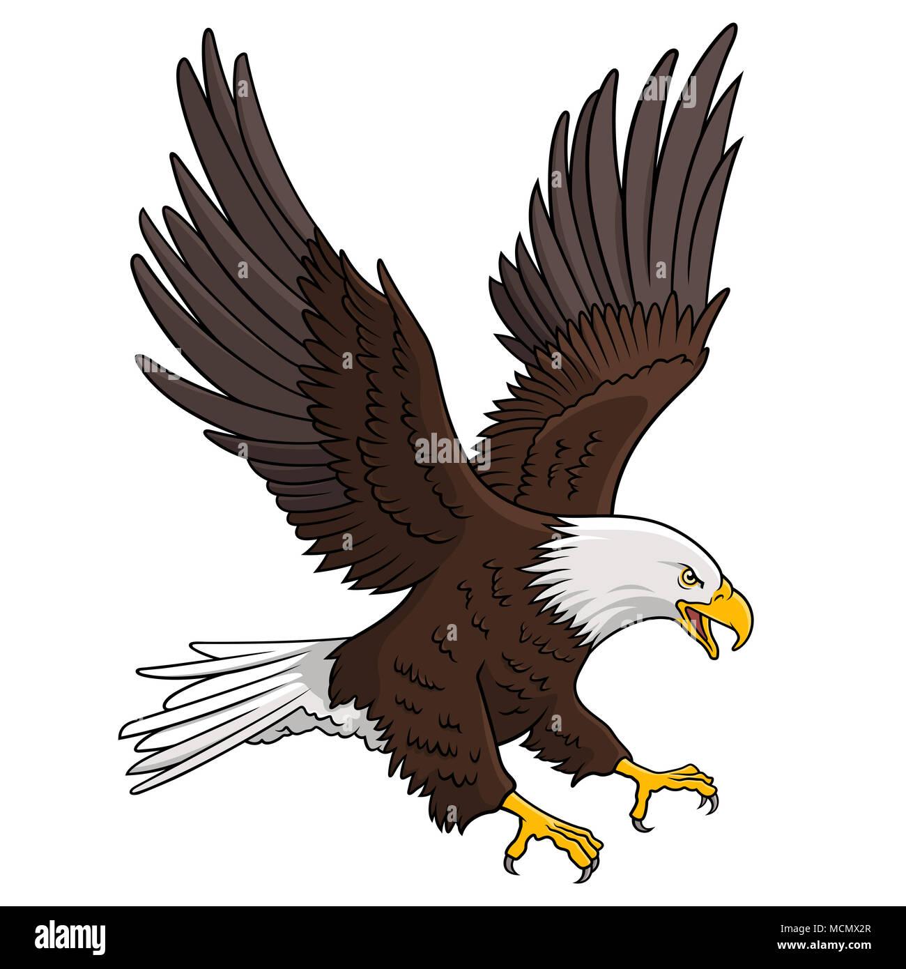 Excelente Lindo águila Para Colorear Regalo - Dibujos Para Colorear ...