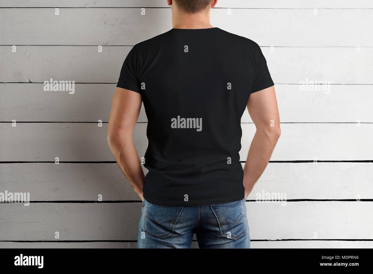 Famoso Plantillas De Camiseta Negra Colección - Ejemplo De ...