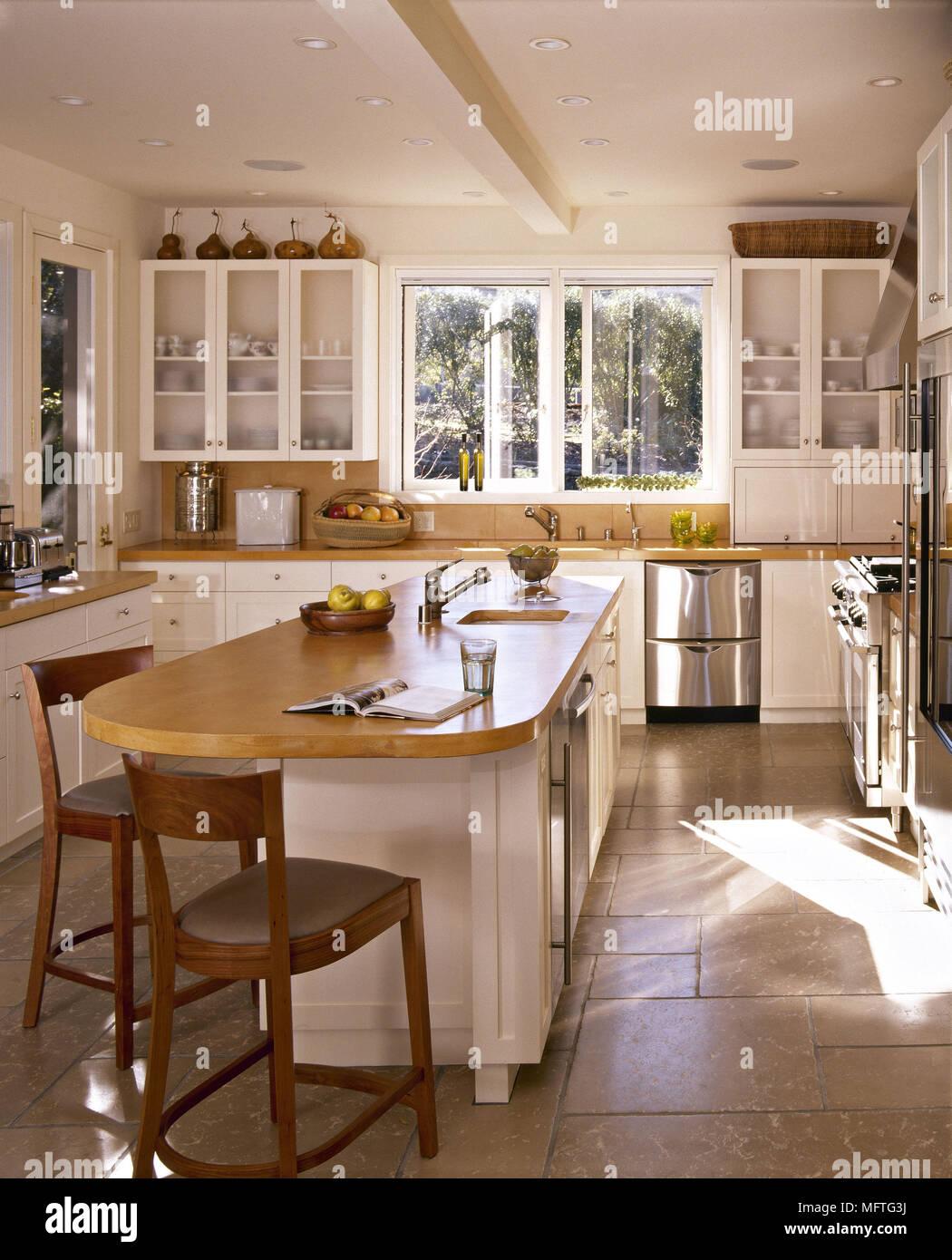 Perfecto País Blanco Fotos De La Cocina Galería - Como Decorar la ...