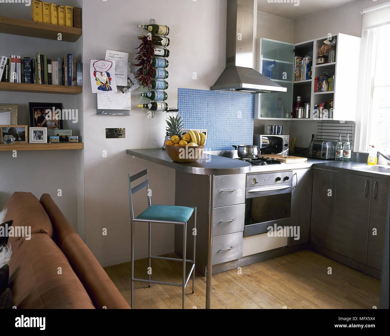 Excelente Cocina Azul Azulejos Reino Unido Cresta - Ideas de ...