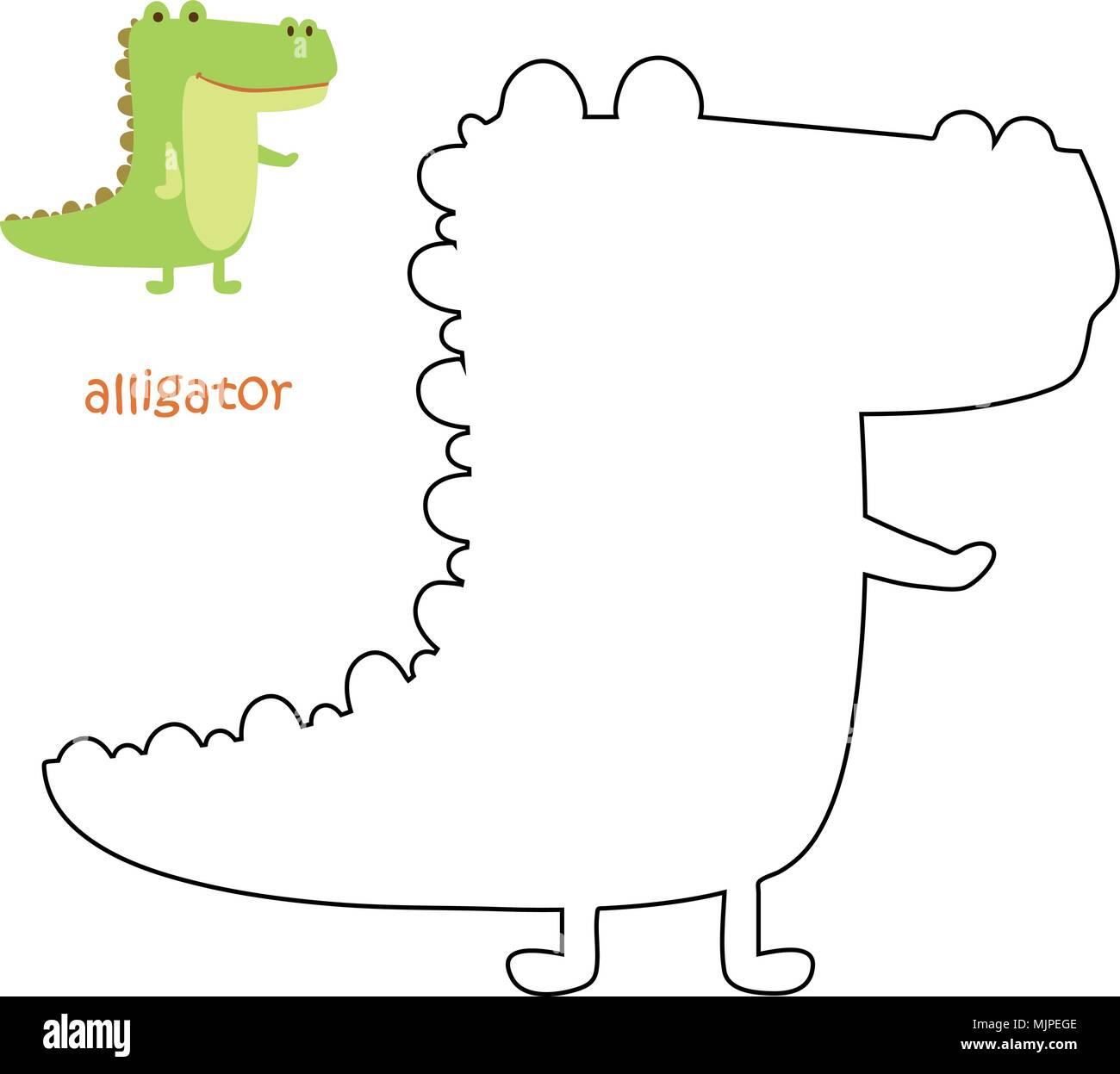 Famoso Dibujo De Allie Alligator Para Colorear Fotos - Ideas Para ...