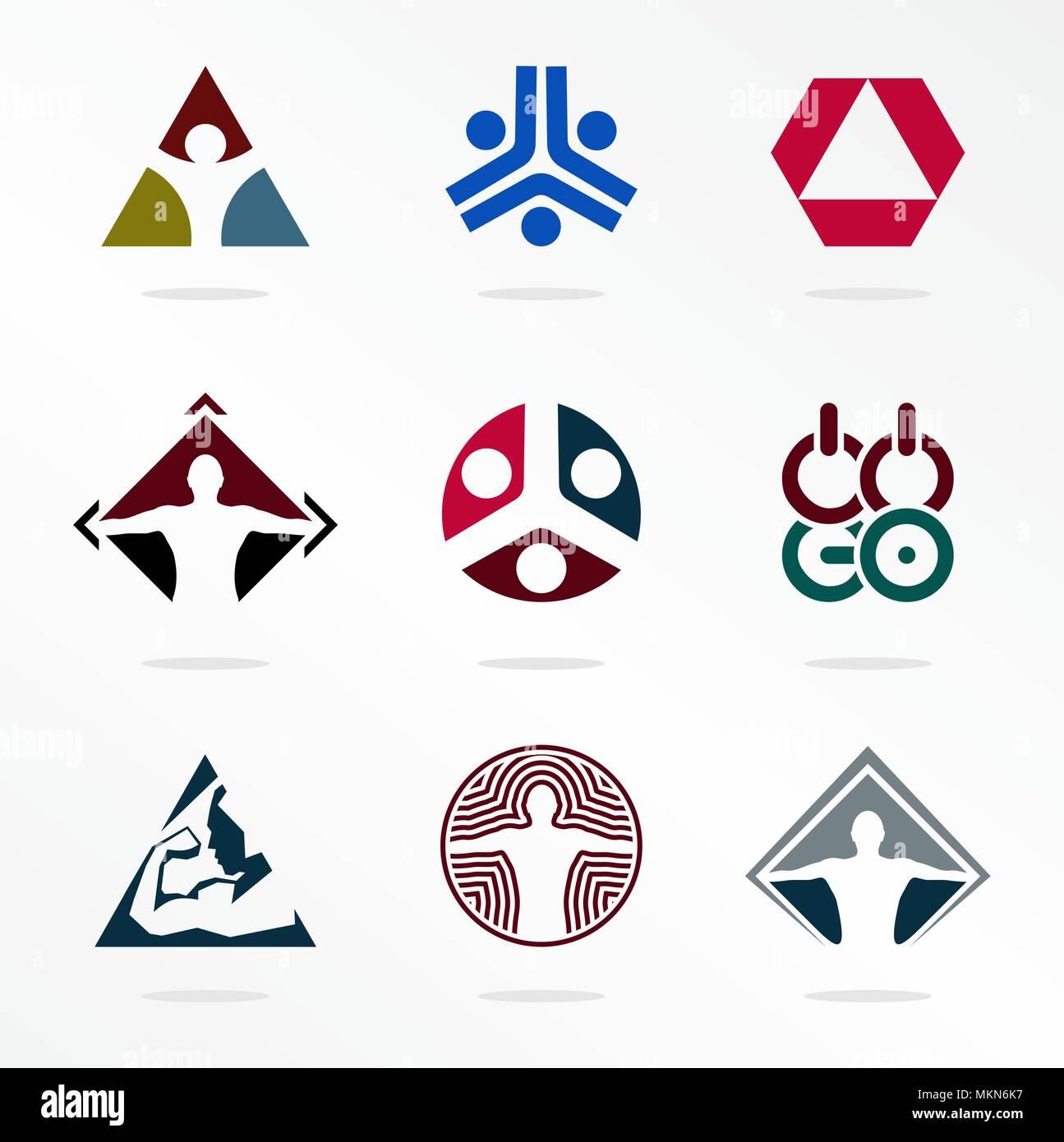 Deporte El Deporte Vectoriales Logotipos Organizacion Logotipo
