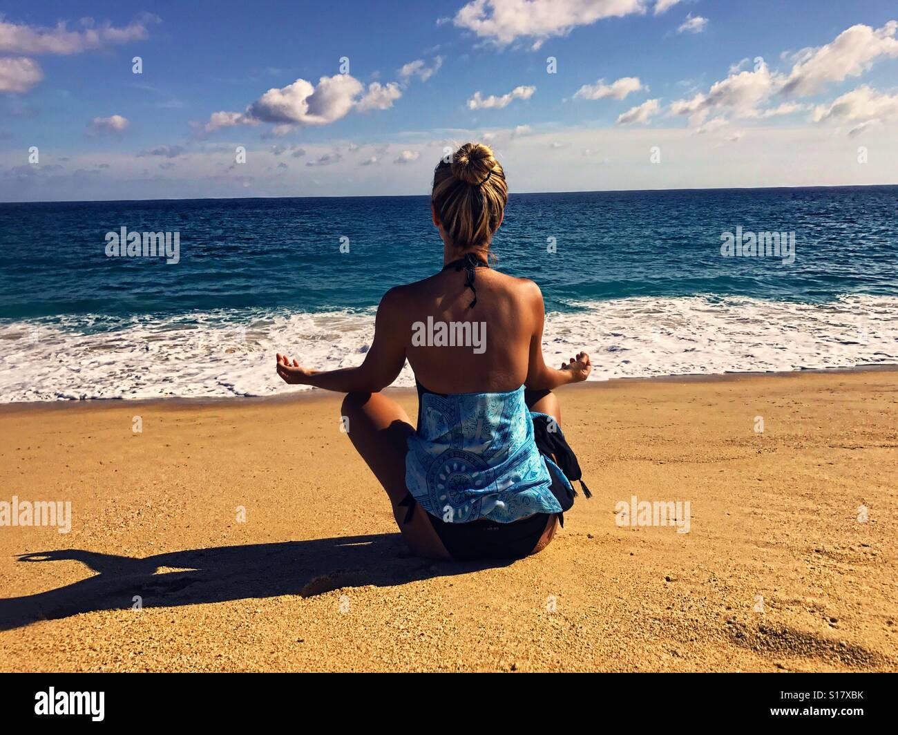 Meditación Imagen De Stock