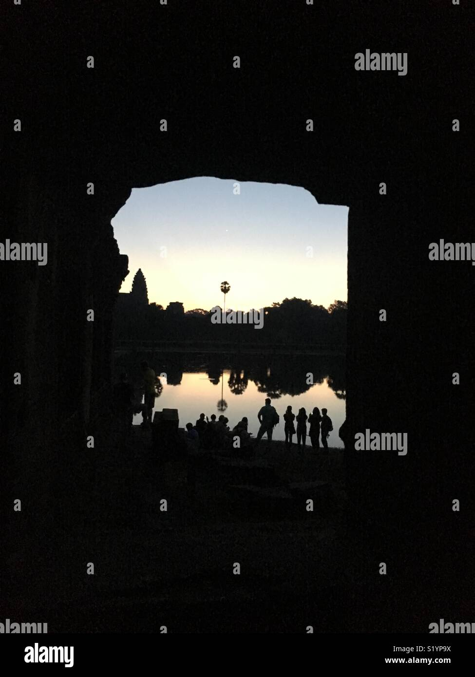 Angkor wat Imagen De Stock