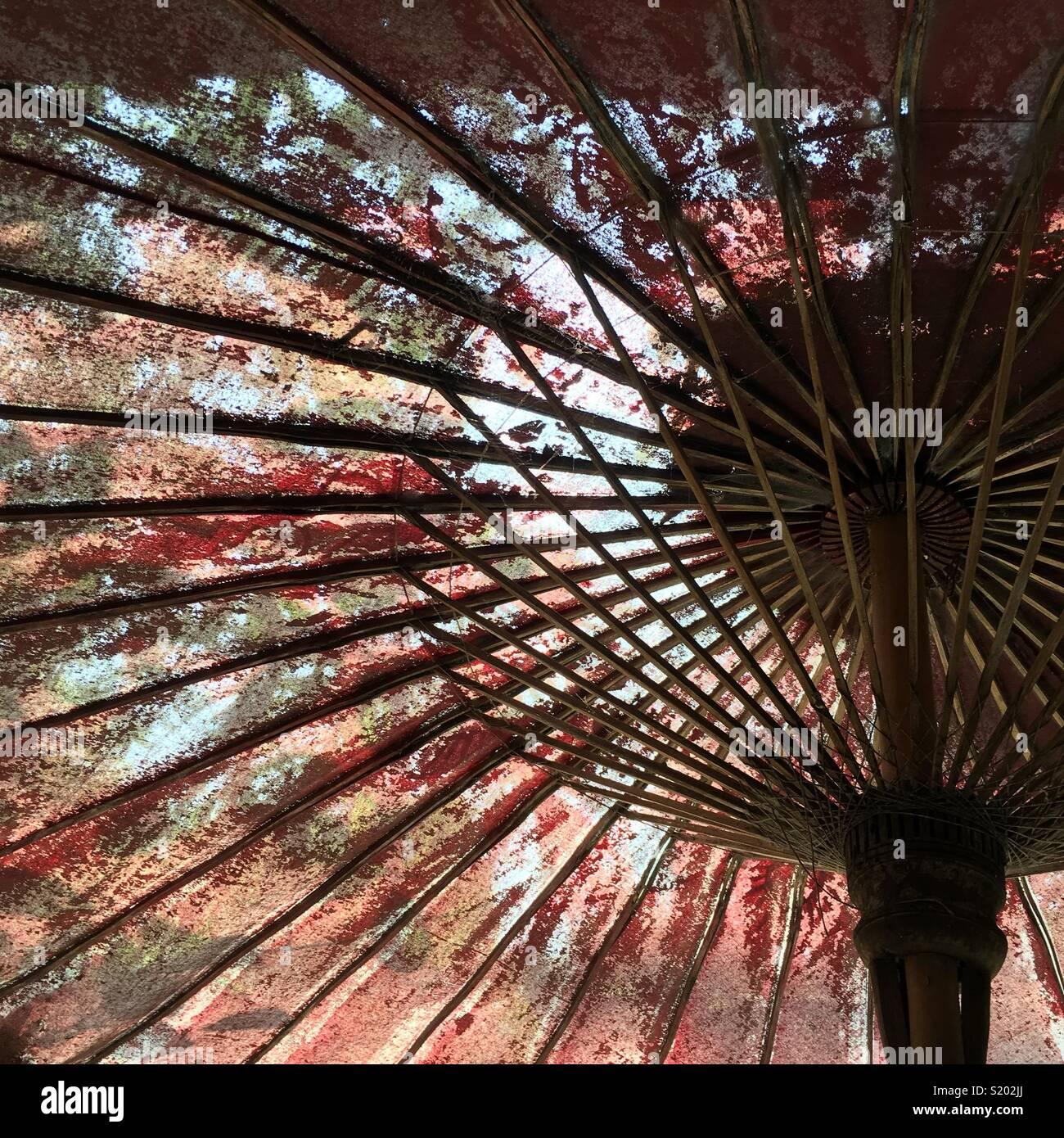 Antiguo paraguas Imagen De Stock