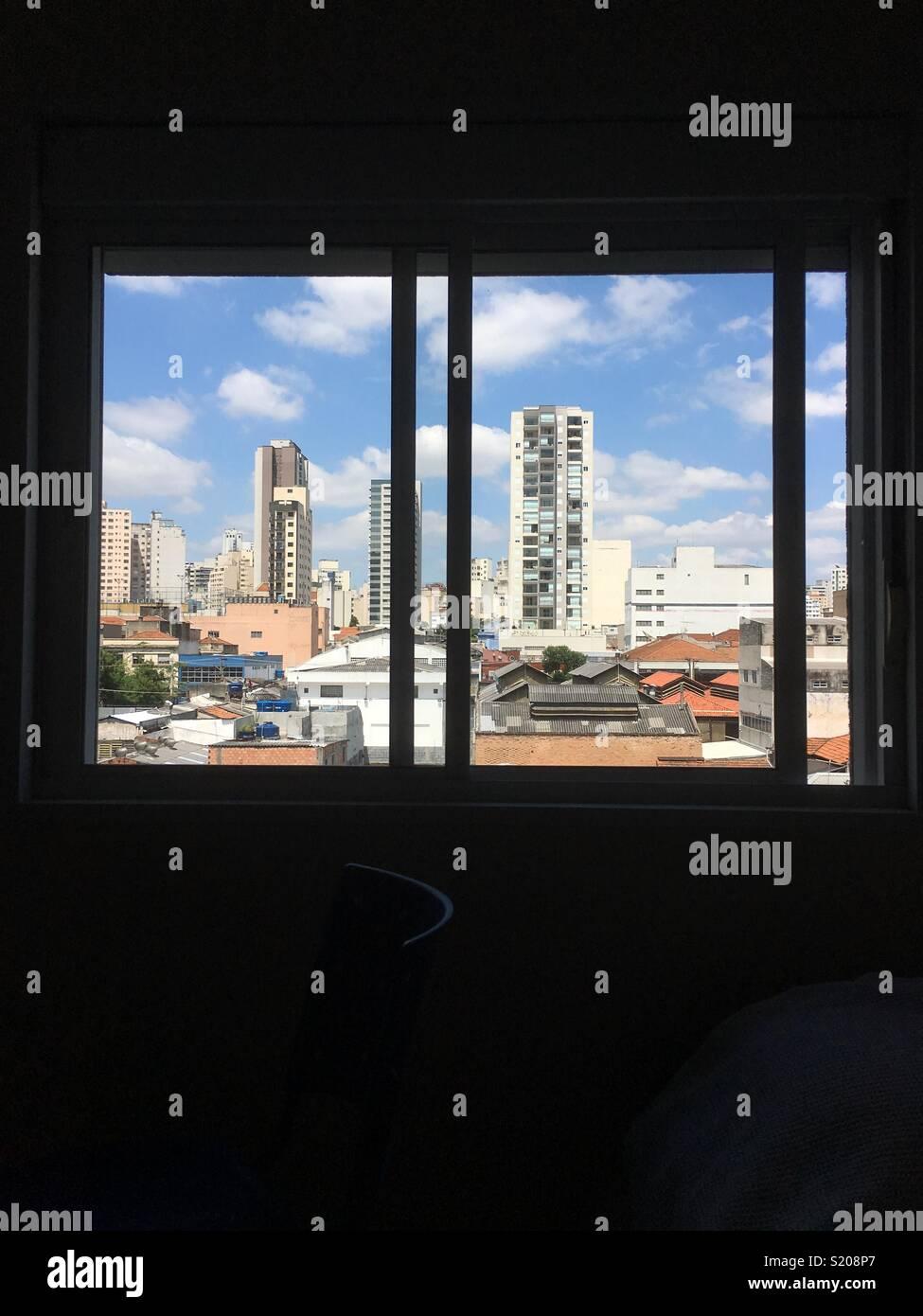 vista de la ventana Imagen De Stock