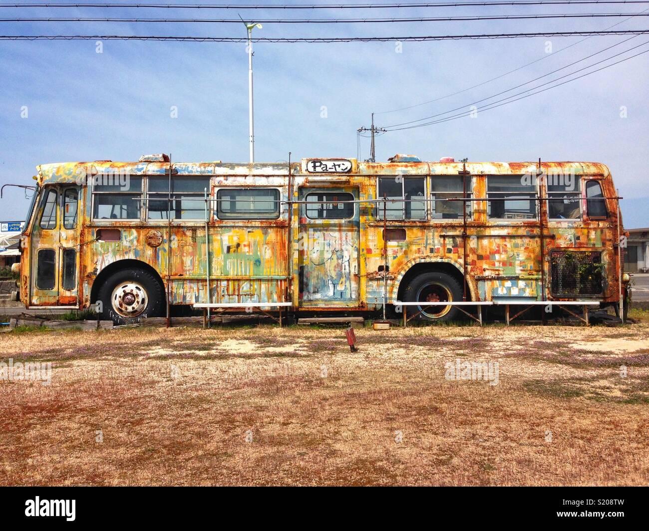 Bus, Onomichi Imagen De Stock