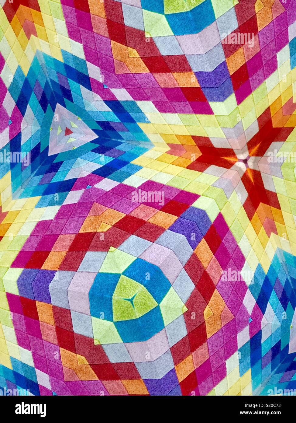 Mosaico tridimensional Imagen De Stock