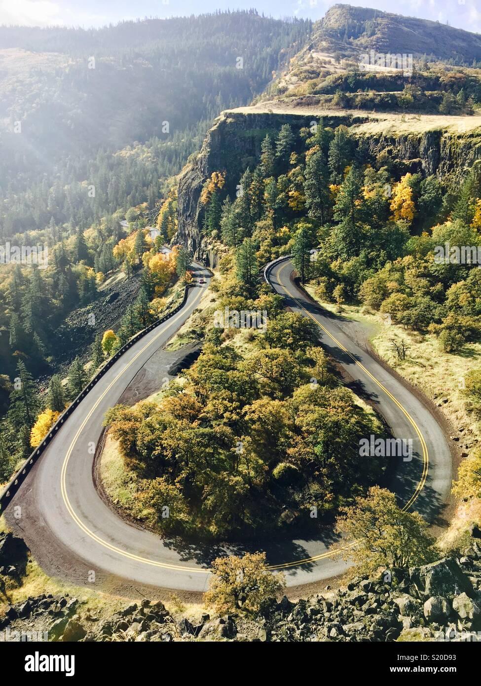 Rowena Crest Oregon Imagen De Stock