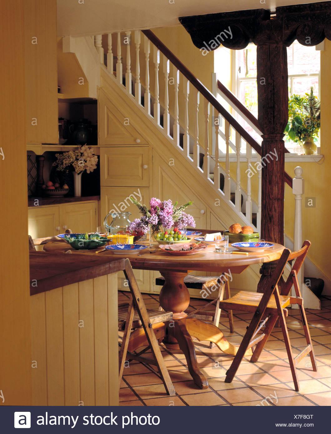 Increíble Mesa De La Cocina Stand Ilustración - Como Decorar la ...
