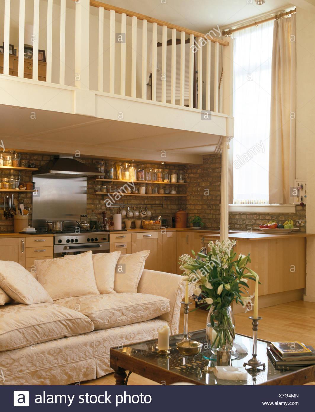Cocinas con sala de estar beautiful perfecto planta for Cocina abierta sala de estar