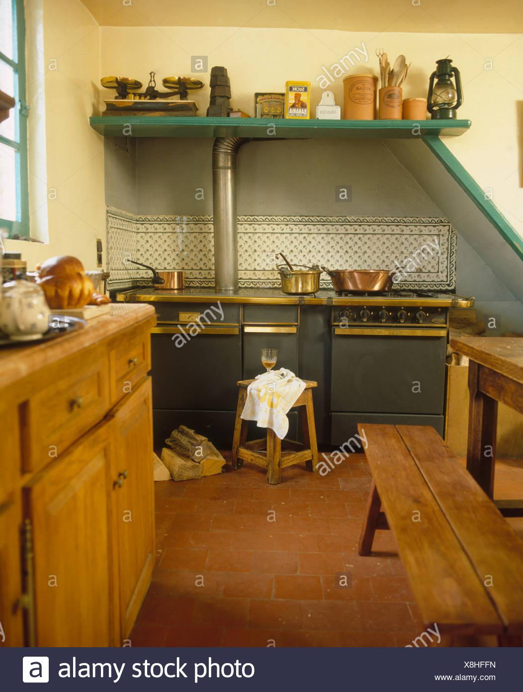 Moderno Fotos De Decoración De La Cocina Francés Del País Modelo ...