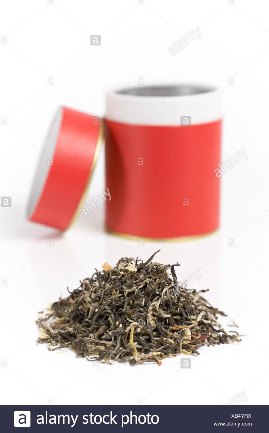 té verde secado seco bebidas recipiente estéril puede contenedores