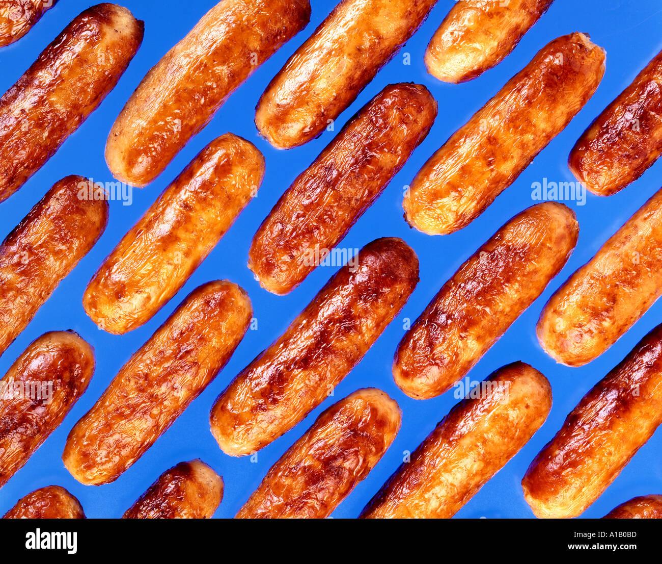 saucisses Photo Stock
