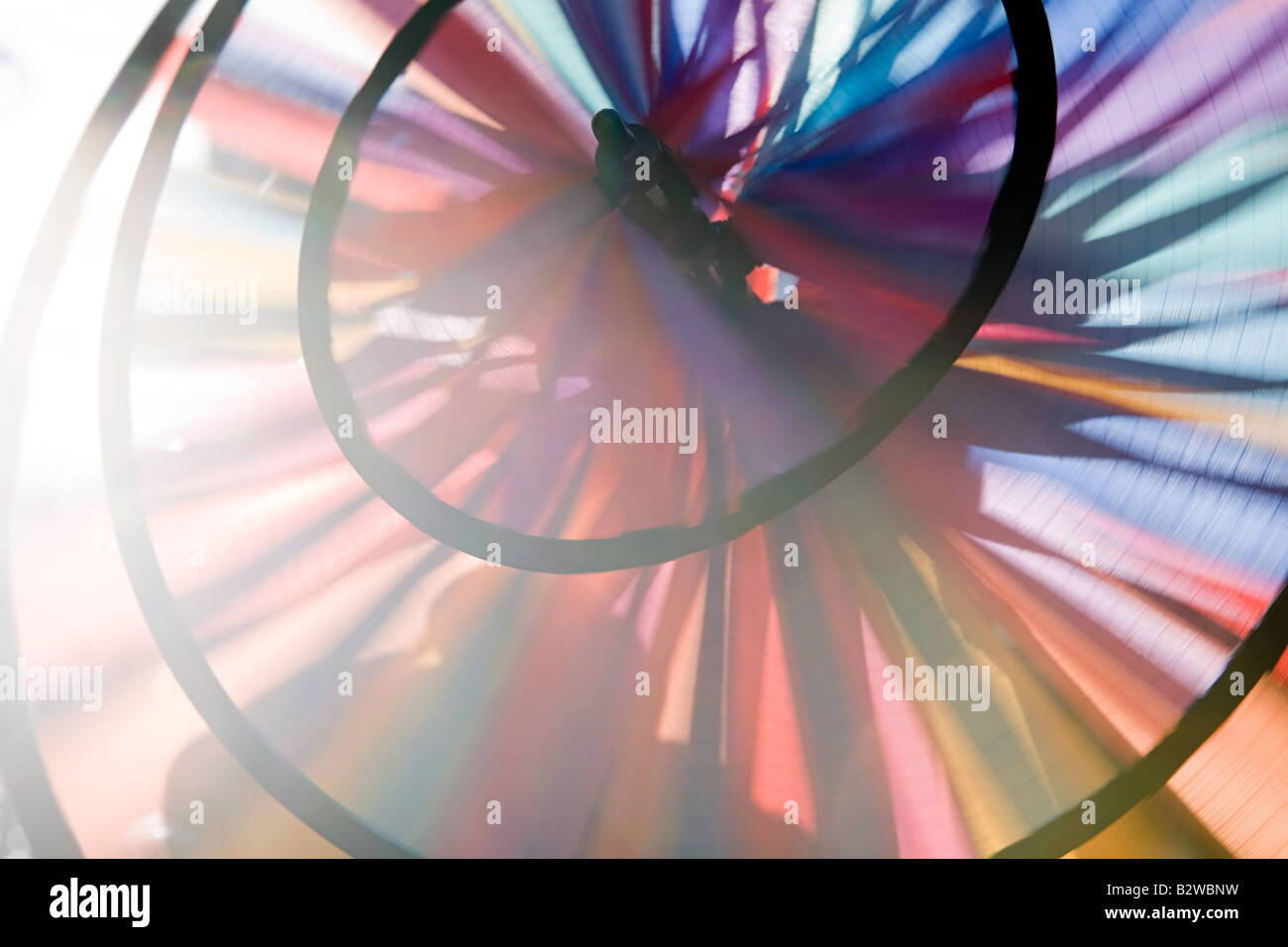 Close up of a pin wheel Photo Stock
