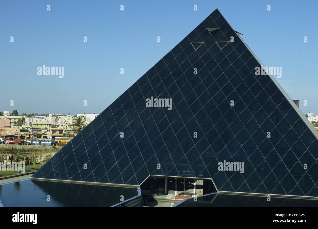 L'INDE Bangalore , campus d'Infosys dans la ville de l'électronique, Infosys est un important développeur Photo Stock
