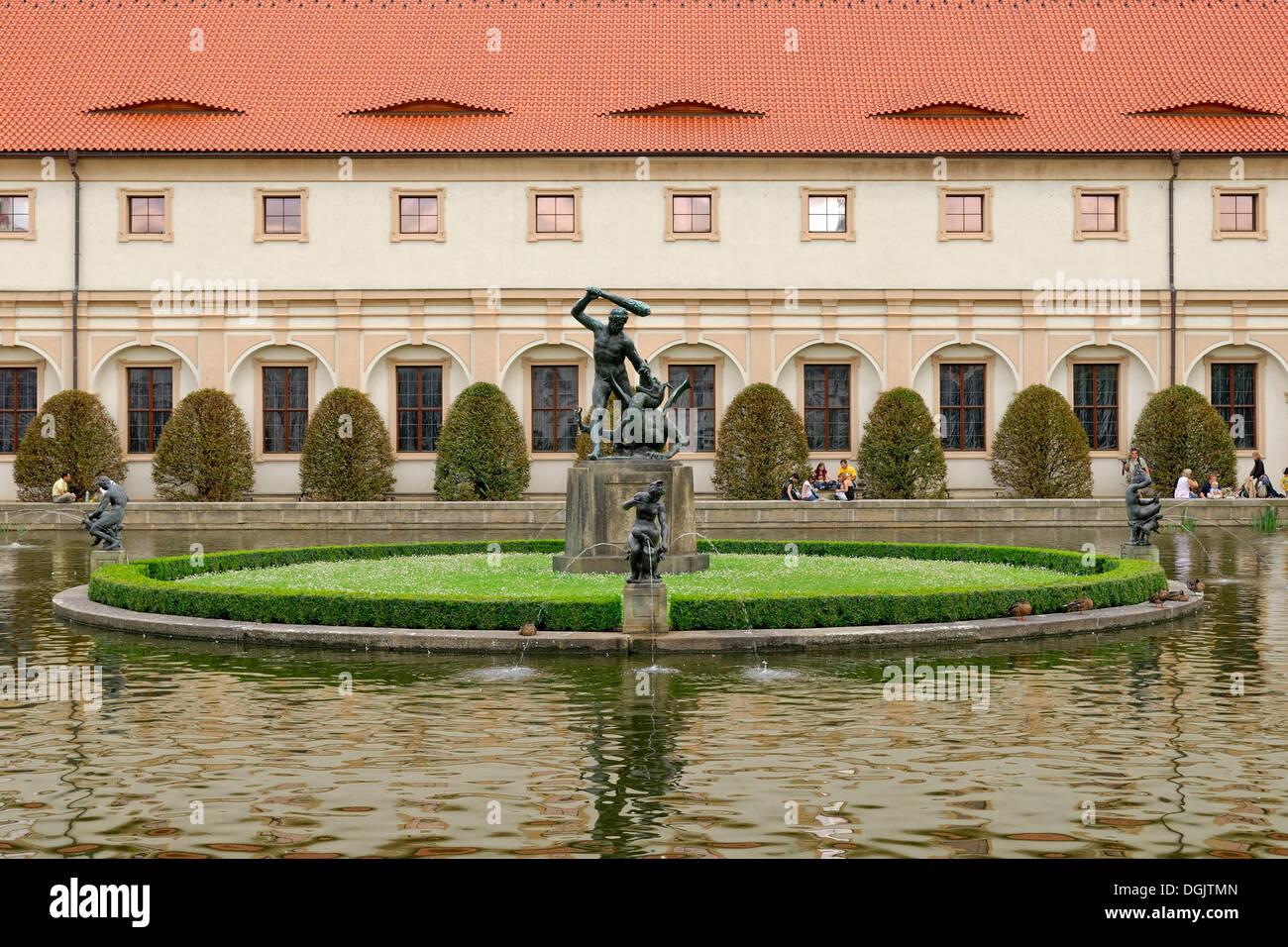 Prague gardens photos prague gardens images alamy for Le jardin wallenstein
