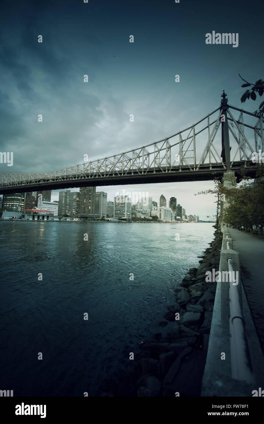 New York cityscape Photo Stock