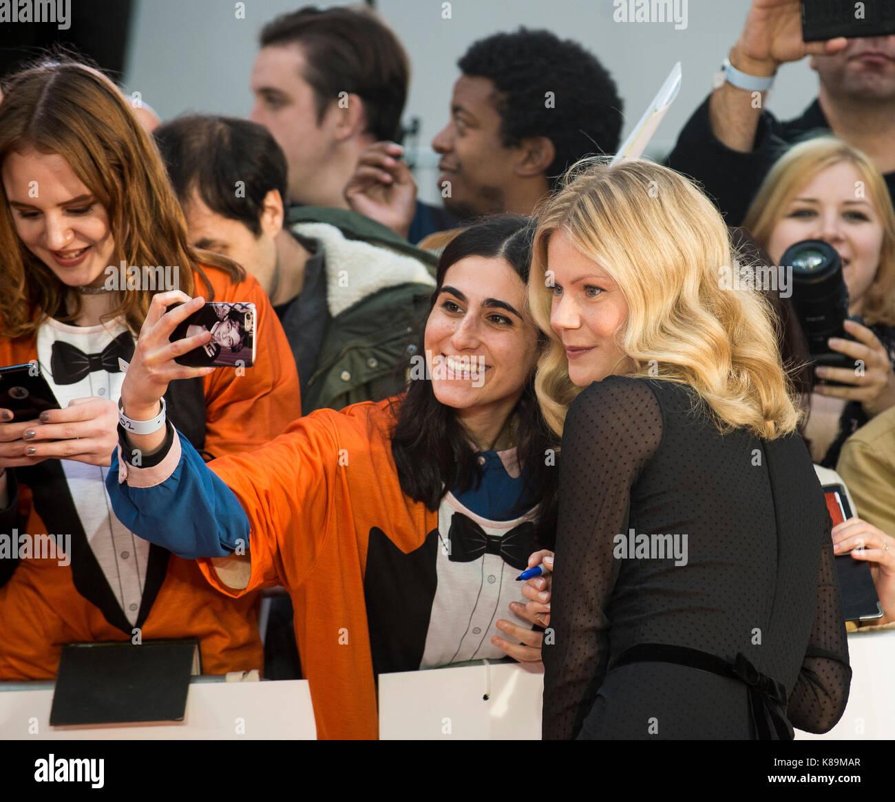'Kingsman: le cercle d'or' première mondiale Photo Stock