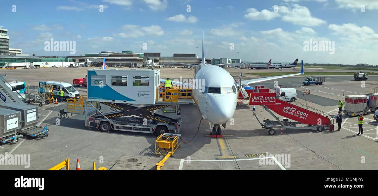 GoTonySmith,holiday,flight,apron,aircraft,at,Ringway,airport,International,refueling,at