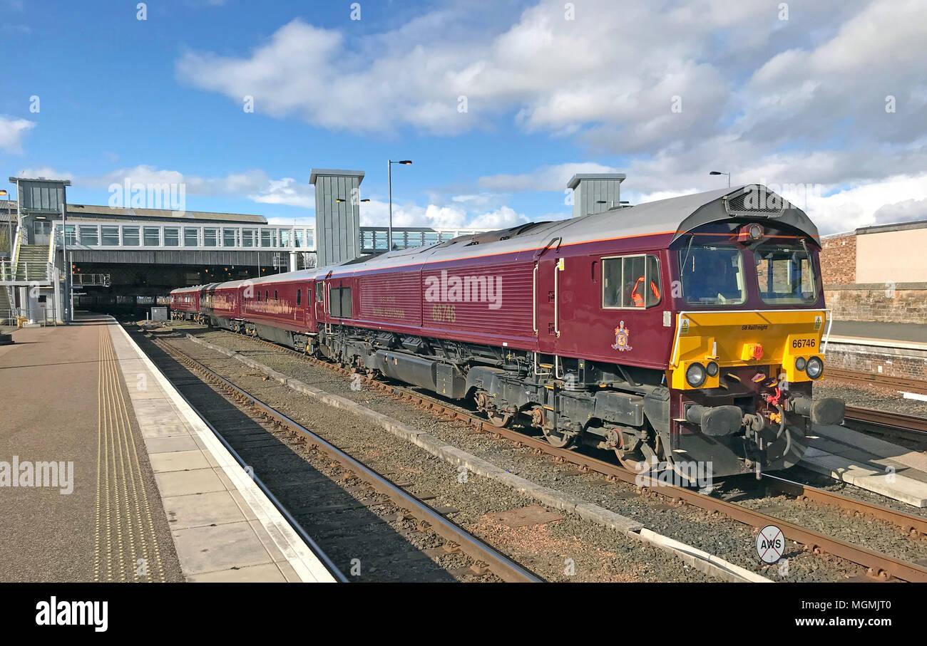 GoTonySmith,carriage,Engine,66746,at,Scotland,luxury,tourist,experience,attraction,UK,GB,Great